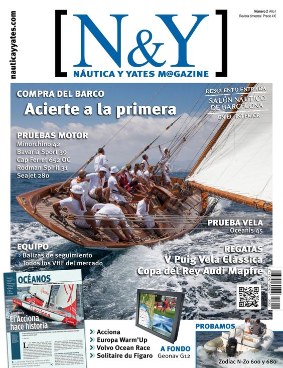 N&Y #Náutica y #Yates Magazine 2. Acciona Europa Warm'Up  Volvo Ocean Race  Solitaire du Figaro