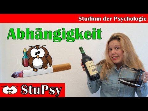 Sucht: Alkohol, Tabletten, Tabak & Co | Klinische Psychologie | ICD-10 K...