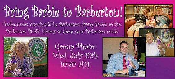 Bring Barbie to Barberton!
