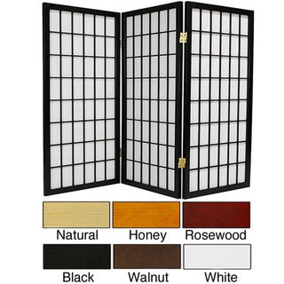 @Overstock - A three-foot-wide design, the windowpane, shoji screens are available in different frame colors: black, natural, honey, rosewood, and walnut. The design of the screens includes white rice paper between the framing and the screens are three feet high.http://www.overstock.com/Worldstock-Fair-Trade/Wood-Paper-3-foot-3-panel-Miniature-Windowpane-Shoji-Screen-China/3378569/product.html?CID=214117 $75.00