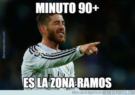 Sergio Ramos. Real Madrid vs Deportivo