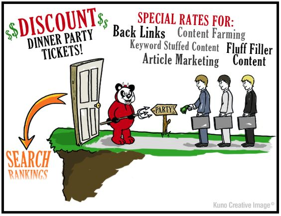 Google Panda's Discount Dinner Party Tickets - Kuno