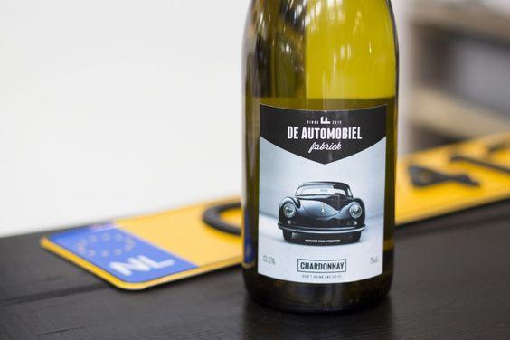 De Automobiel Fabriek wijn! #chardonnay
