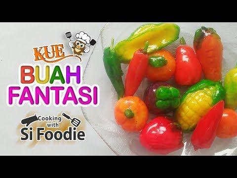 Cara Membuat Kue Buah Fantasi Thailand Resep Cemilan Enak Youtube Kue Buah Cemilan Buah