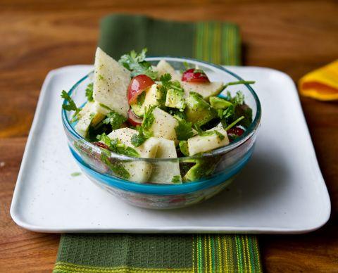 tacos-jicama1 red grape, avocado....