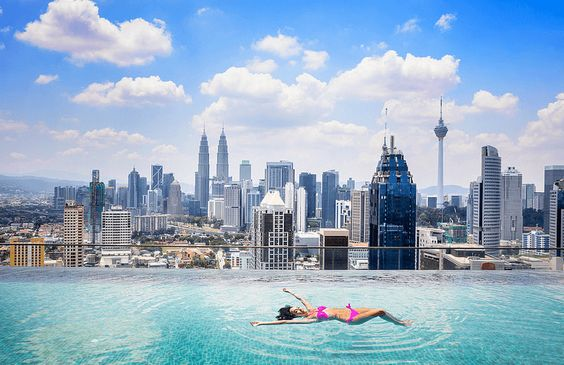 Visit Kuala Lumpur, the capital city of Malaysia incorporating some iconic structures and mixed culture. #travel #trips365