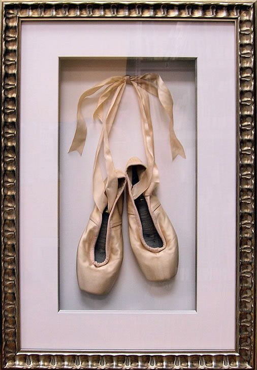 Would love to do this with an old pair of pointe shoes for a girls nursery