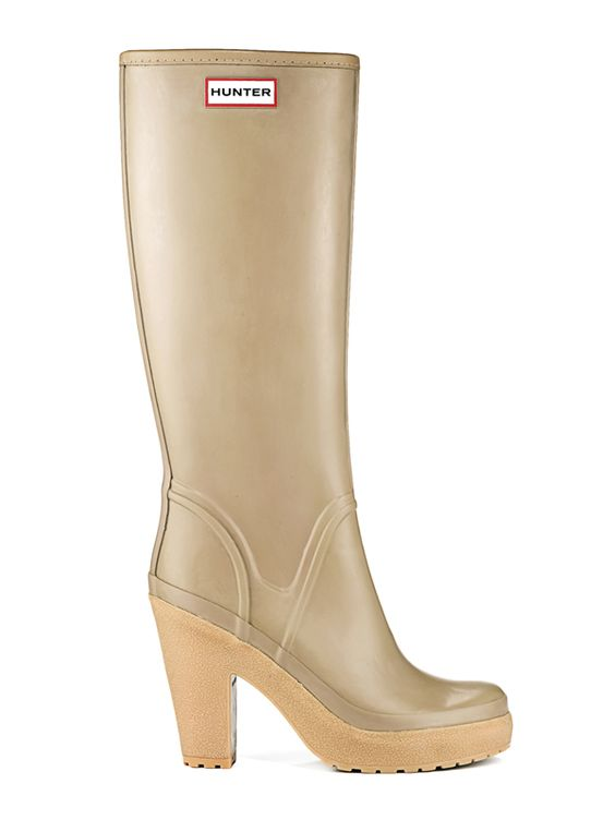 Womans High Heel Rain Boots | Rubber Boots | Hunter Boot Ltd | My ...