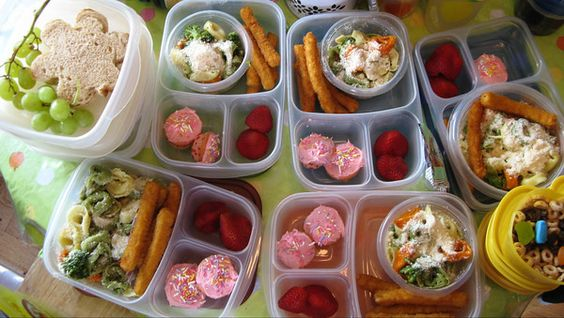 Lots of great lunch ideas for the kids