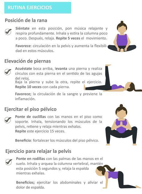 4 Ejercicios De Yoga Prenatal Para Practicar En Casa Ejercicios Prenatales Ejercicios Para Embarazadas Ejercicios De Embarazo