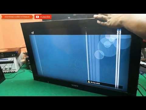 Rayas Y Lineas De Colores Resuelto Reparación Video 2 Electrónica Núñez Youtube Televisión Led Sony Led Reparación