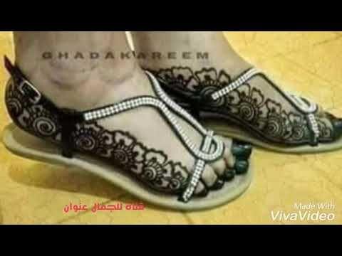 نقش حنة سودانية مبالغة شكل برواز حنة سودانية فوق السادة Very Beautiful Sudanese Henna Youtube Vuitton Henna Designs Louis Vuitton