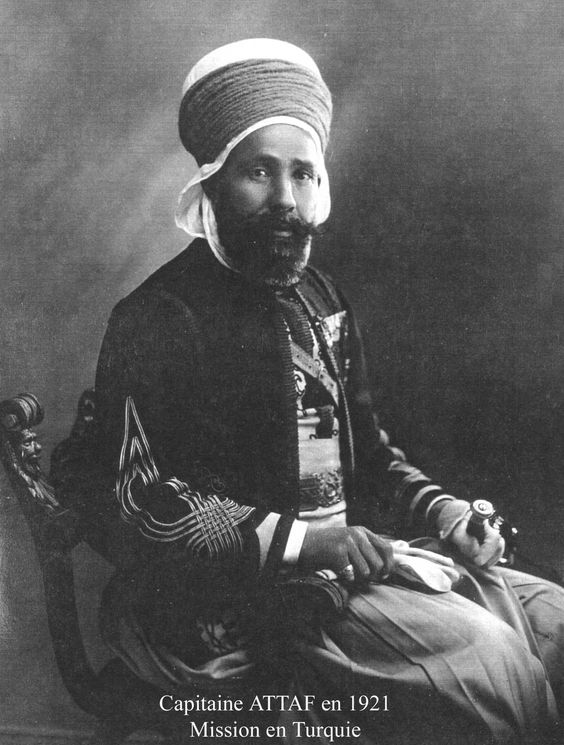 Algérie Aumale capitaine Attaf