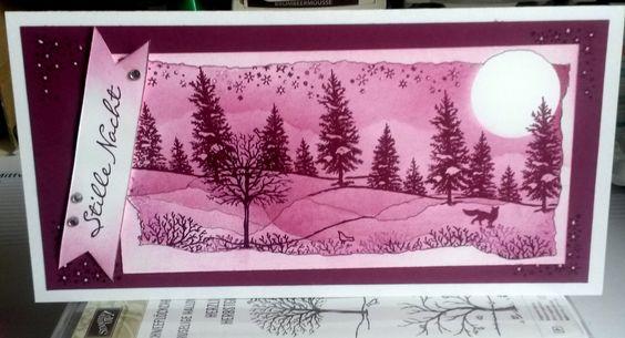 Winterkarte/ Weihnachten