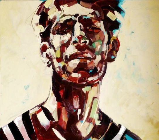 ArtAffair – Galerie für moderne Kunst | Anna Bocek: Man series I