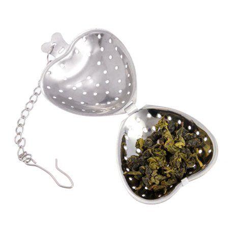 Tea Heart Shape Strainer Infuser Stainless Steel Filter Strainer Herbal Spice