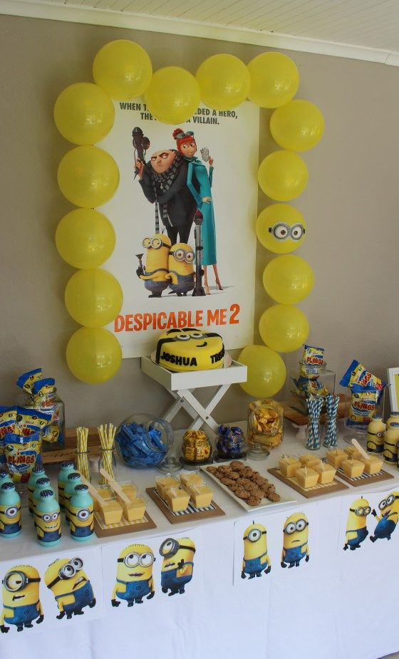 Minion Centerpieces Ideas
