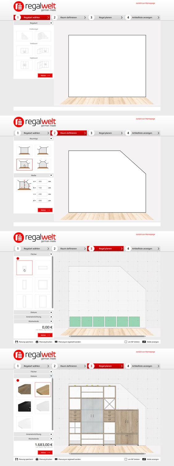 Regalplaner made by 4market | www.4market.de/ | Online-Konfigurator für Regalsysteme