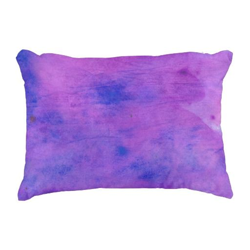 "Purple Paint Cotton Accent Pillow 16"" x 12"" #pillow #accentpillow #throwpillow #homedecor #interiordesign #fashion #style #trend #homedecorating #interiordecorating #roommakeover"