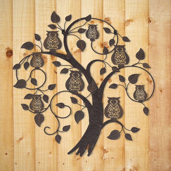 Metal Owl Wall Decor metal owl wall decor - google search | wood projects | pinterest