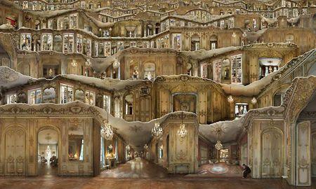 Área Visual: Jean Francois Rauzier. Creador de la Hiperfoto