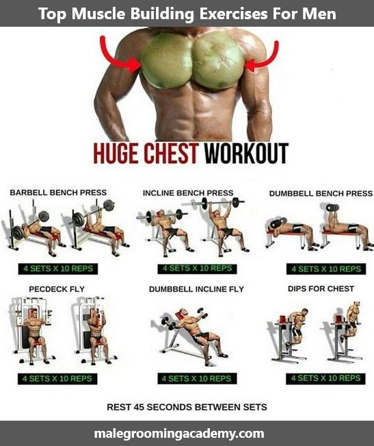 Top Muscle Building Exercises Fitness Health Life Love Diet Quote Muscle Building Workouts Gym Workout Chart Gym Workout Tips