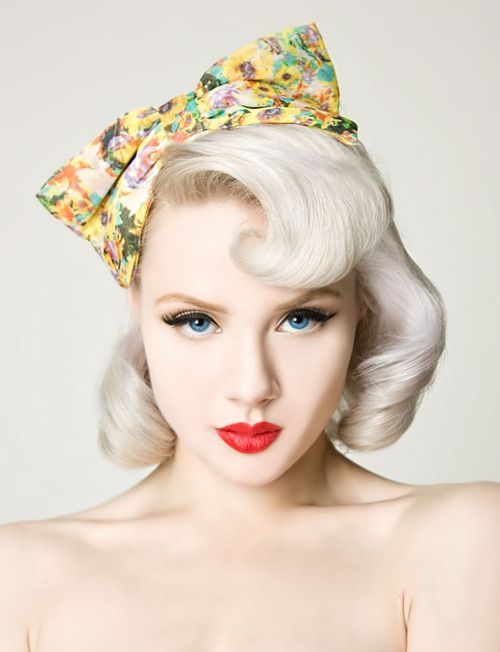 Hot Miss Mosh Pin Ups Pinterest Big Bows Platinum