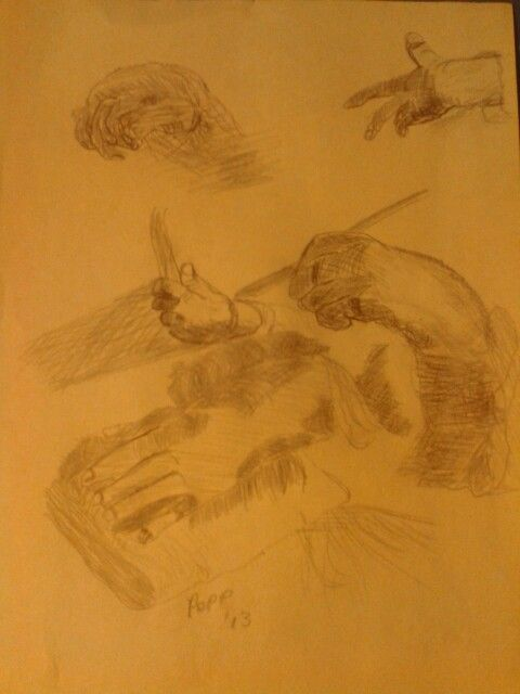 study of hands after copy after fredrick bloemaert after abraham bloemaert pencil newsprint 9a 12 inches original artworks by anthony pope pinterest
