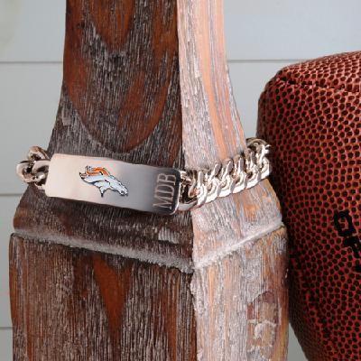 Personalized Denver Broncos Fan Favorite Bracelet