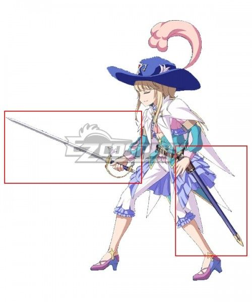 custom made Fate Grand Order Saber Chevalier D/'Eon Maid Dress Cosplay costume