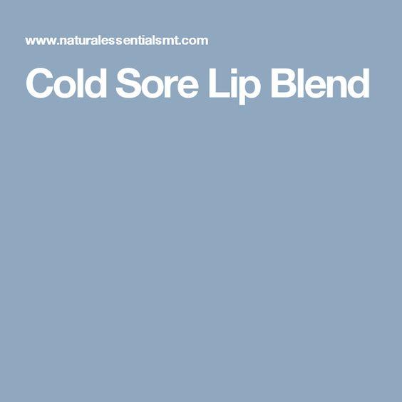 Cold Sore Lip Blend