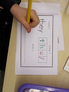 Sight Word stamping book