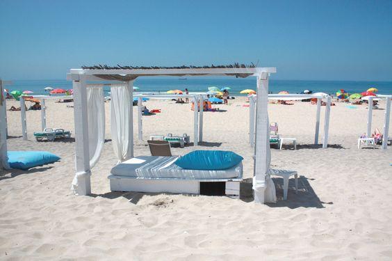 costa de caparica - plage kontiki