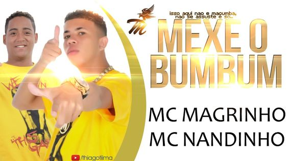 MC MAGRINHO E MC NANDINHO - MEXE O BUMBUM ( NOVA 2014 )
