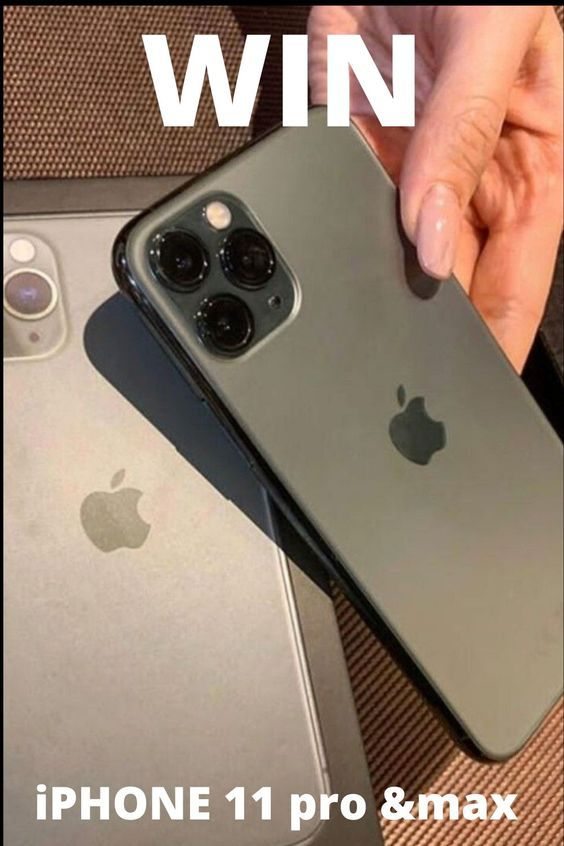 Win A New Iphone 11 Pro Max Now Take Part And Visit The Website In 2020 Free Iphone Giveaway Iphone Get Free Iphone