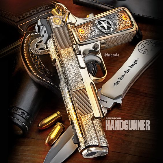 Dave Lauck's Centennial model, serial no. 101, for the 101st year of the 1911 | Click here: http://americanhandgunner.com/store/products/american-handgunner-septoct-2012-single-issue/ | #D&LSports #lauck #1911 #centennial