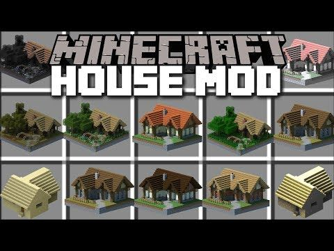 Minecraft Instant Houses Mod Spawn Huge Structures With Villagers Help Minecraft Youtube Minecraft Modern Minecraft Houses Minecraft Mods