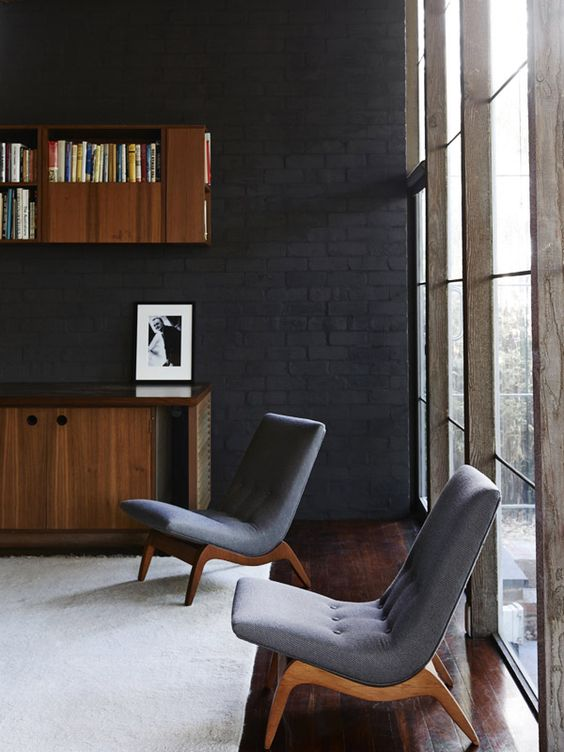 The iconic Walsh Street House in South Yarra, designed by Australian architect Robin Boyd for his family in 1957. Photo by Eve Wilson, production Lucy Feagins/The Design Files.  Pinned by Secret Design Studio, Melbourne. www.secretdesignstudio.com