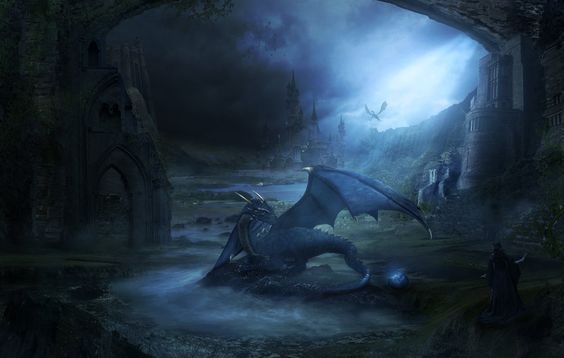 The Dragons Lair by charmedy.deviantart.com on @DeviantArt
