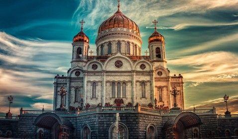 Rússia, catedral de Cristo