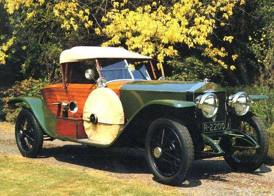 1914 Rolls-Royce Silver Ghost Roadster Body by Schebera-Schapiro