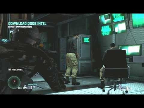 Splinter Cell Blacklist - Perfectionist - Special Missions HQ - Part 1
