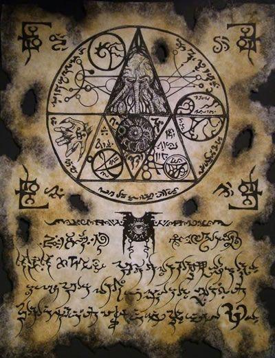 El Necronomicón,un libro salido de los infiernos 8d121063976e4d44eaf267c0bb9533c6