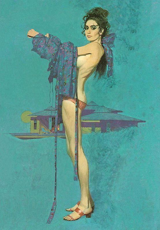 Robert McGinnis, 1926 ~ American illustrator   Tutt'Art@   Pittura * Scultura * Poesia * Musica  