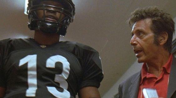 Any Given Sunday  (19999; dir. Oliver Stone)  Al Pacino, Jamie Fox
