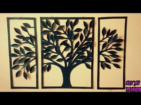 Amazing Diy Home Decor Wall Art Using Cardboard Quadros Decorativos Com Frases Rolos De Papel Higienico Trabalhos Manuais