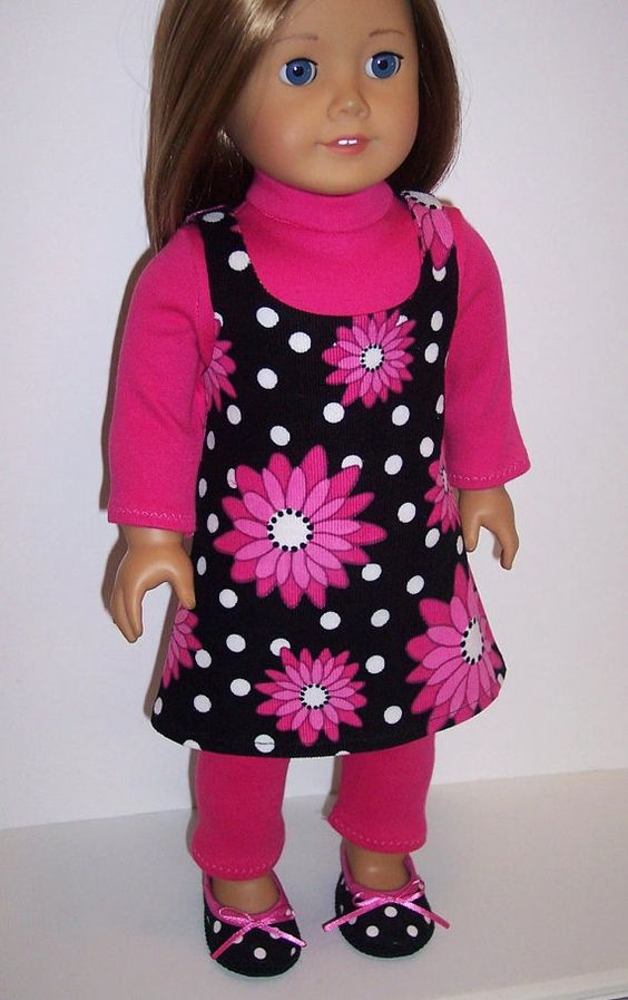 American Girl/18 DollDaisy Dots Complete by erinslittlesecrets, 27.95