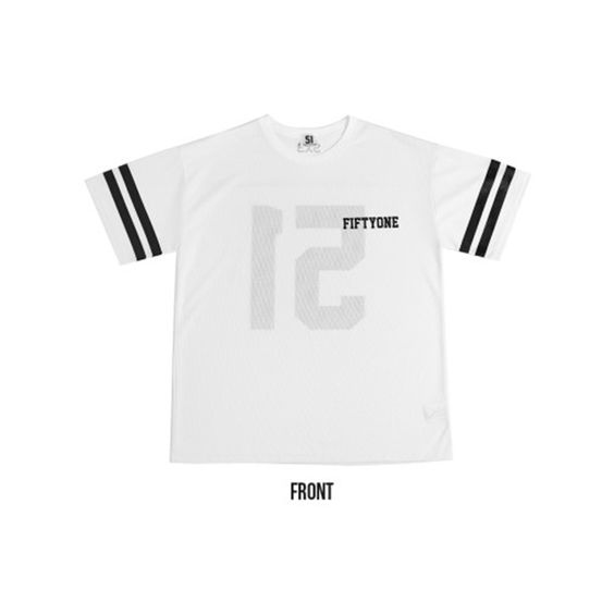 "K2POP - 2015 SO JI SUB FANMETTIG ""LET'S GO TOGETHER"" OFFICIAL GOODS : MESH 51 T-SHIRTS"