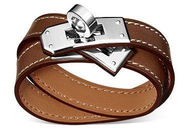 buy hermes birkin bag - Kelly Double Tour bracelet, Barenia leather in fauve Herm��s | My ...