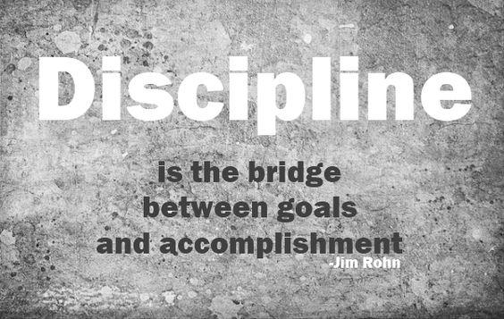 Discipline: